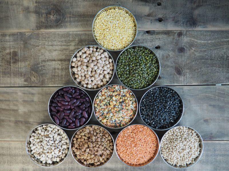 ミャンマー産のお豆